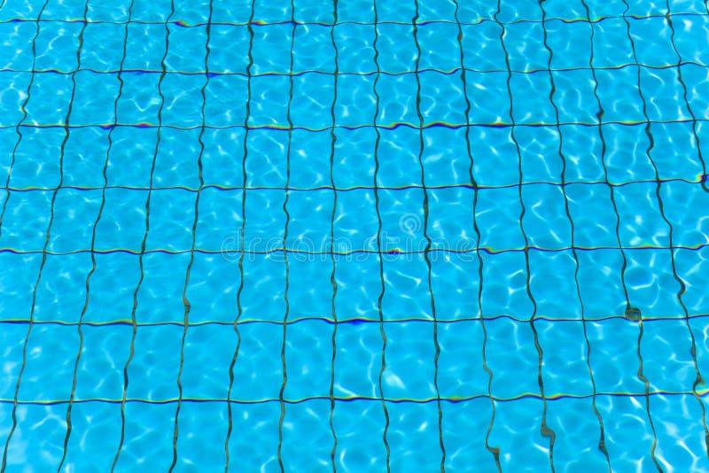 Νερό και κύμα πισινών στοκ φωτογραφία