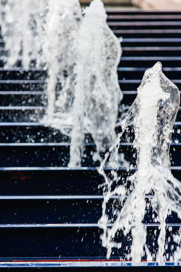 Νερό μιας πηγής στοκ φωτογραφίες με δικαίωμα ελεύθερης χρήσης