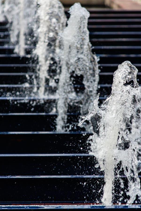 Νερό μιας πηγής στοκ εικόνες