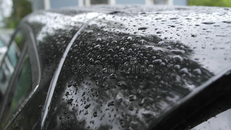 Νερό στο αυτοκίνητο στοκ εικόνες