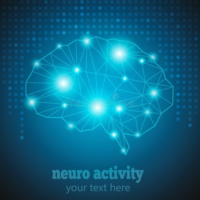 Νευρο δραστηριότητα 1 ελεύθερη απεικόνιση δικαιώματος