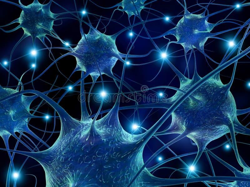 Νευρώνες. απεικόνιση αποθεμάτων