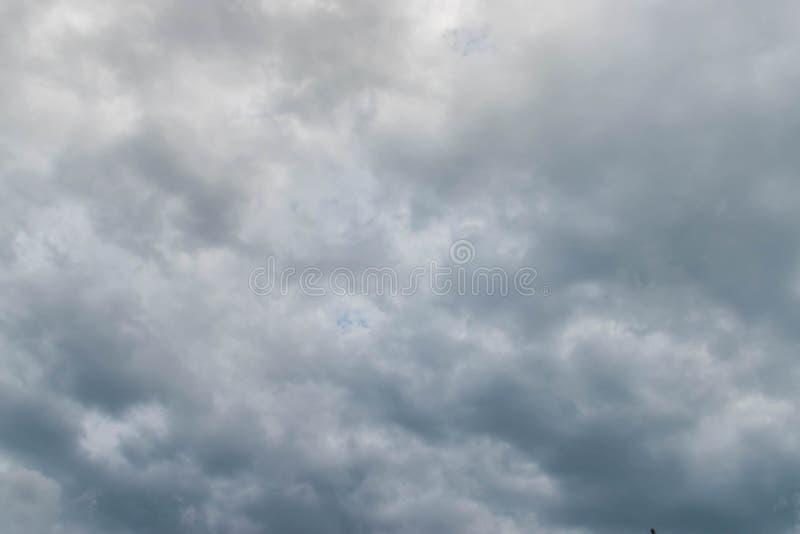 Νεφελώδης ουρανός για το υπόβαθρο στοκ εικόνες