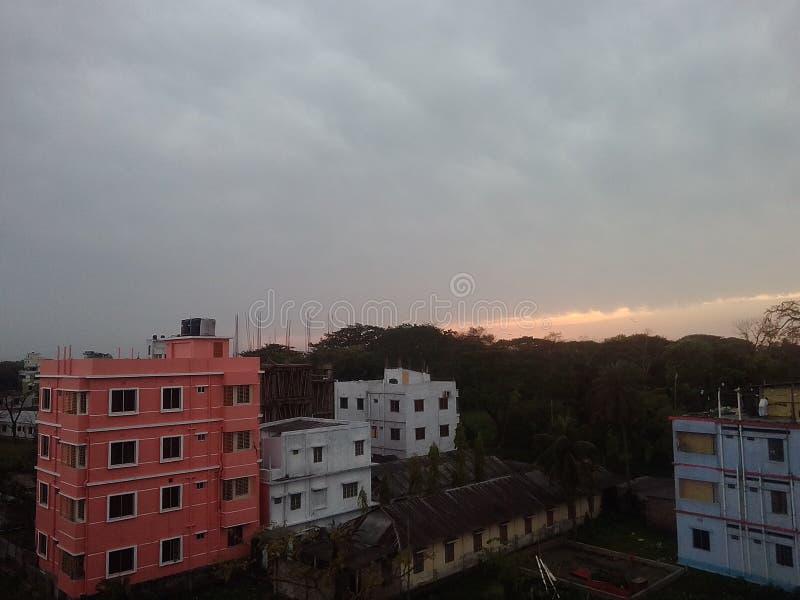νεφελώδης ουρανός στοκ εικόνες με δικαίωμα ελεύθερης χρήσης