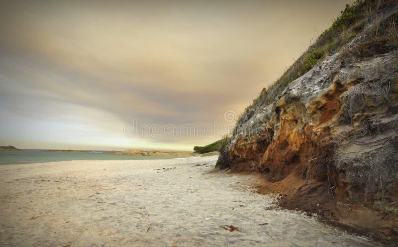 Νεφελώδες Sunsets του κόλπου του William στοκ φωτογραφίες με δικαίωμα ελεύθερης χρήσης