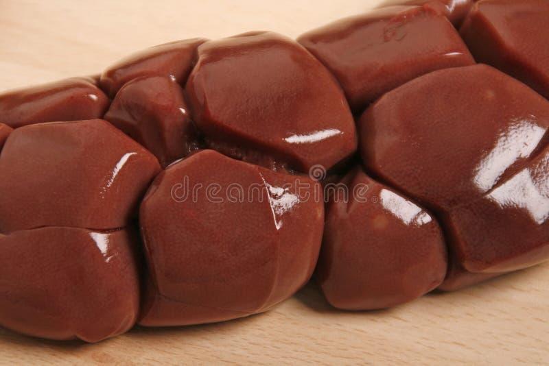 Νεφρά βόειου κρέατος στοκ φωτογραφίες