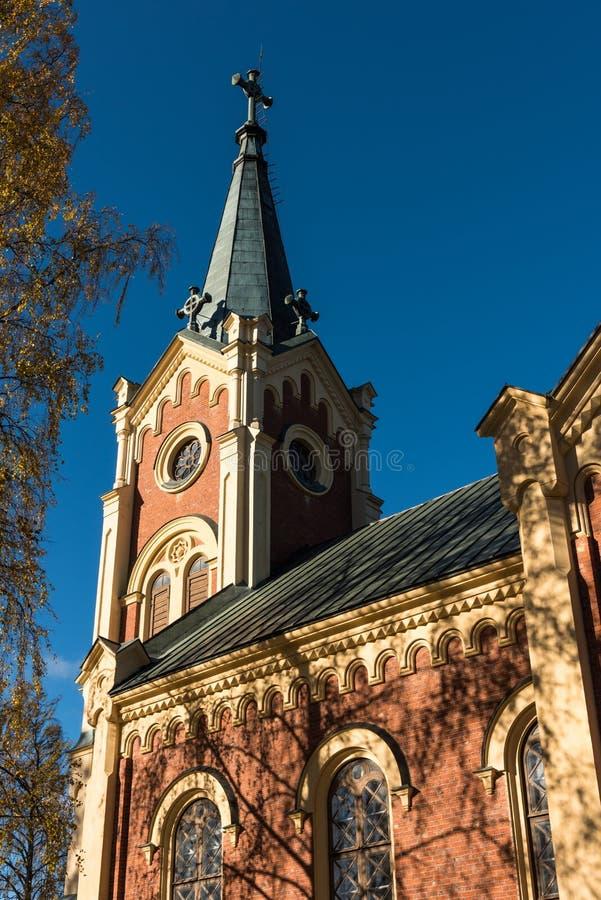 Νεω γοτθική παλαιά εκκλησία ύφους στοκ εικόνες
