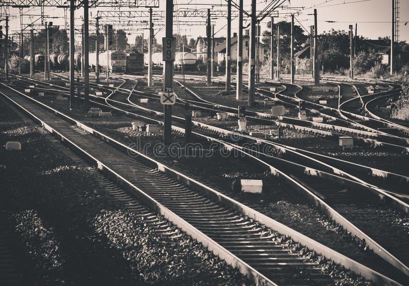 Νεύμα σιδηροδρόμου στοκ εικόνες
