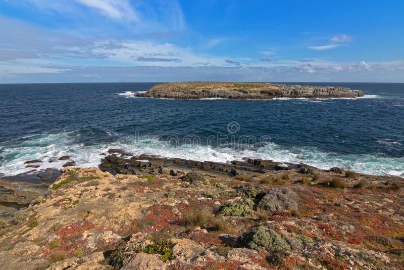 Νησάκια Casuarina, αποκαλούμενα επίσης αδελφούς, αυλάκωμα Natio Flinders στοκ εικόνες