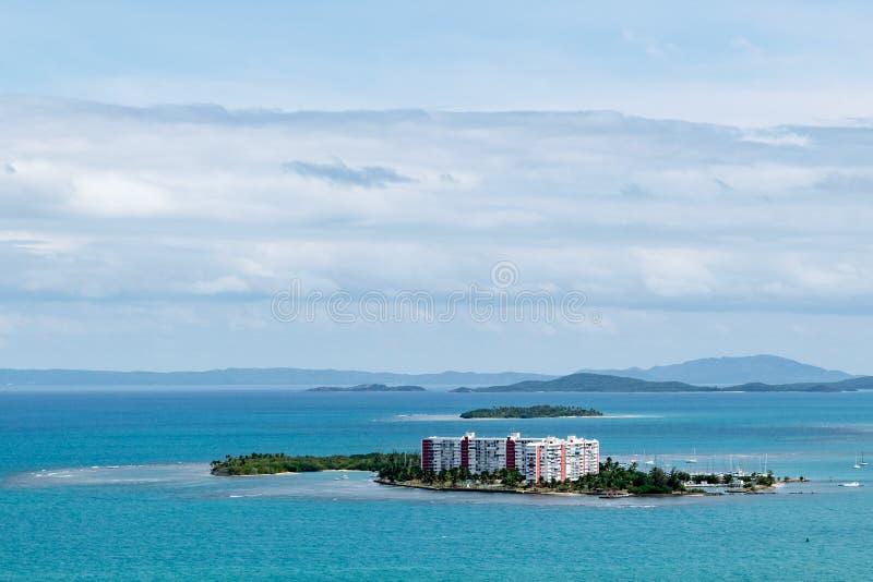 Νησάκι τουριστών στο Πουέρτο Ρίκο στοκ φωτογραφία με δικαίωμα ελεύθερης χρήσης