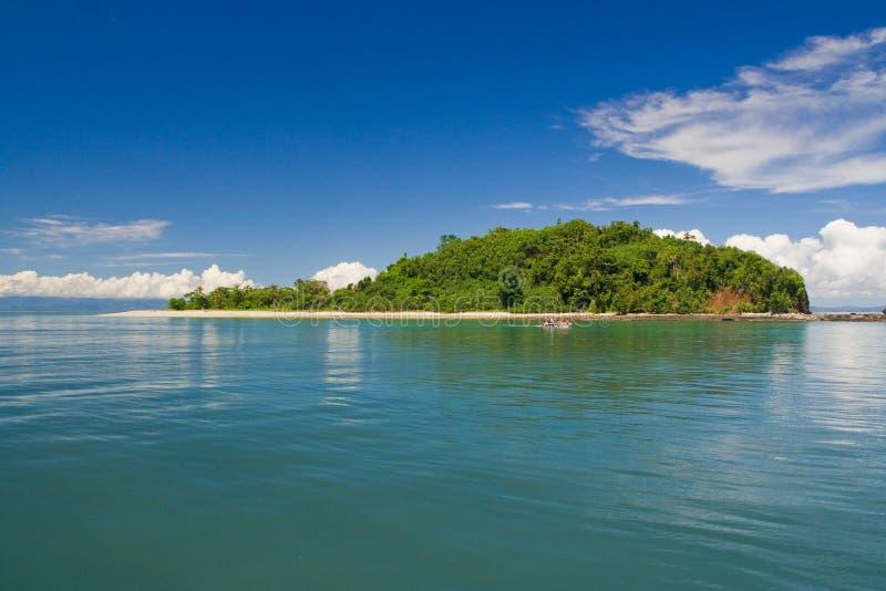 νησί αδιάκριτο tanikely στοκ φωτογραφίες