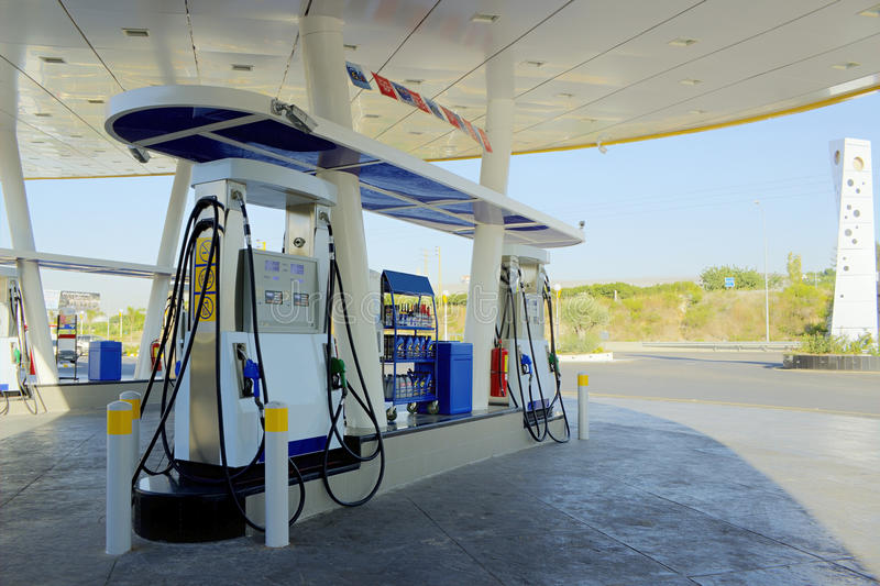Νησί βενζινάδικων στοκ φωτογραφία με δικαίωμα ελεύθερης χρήσης