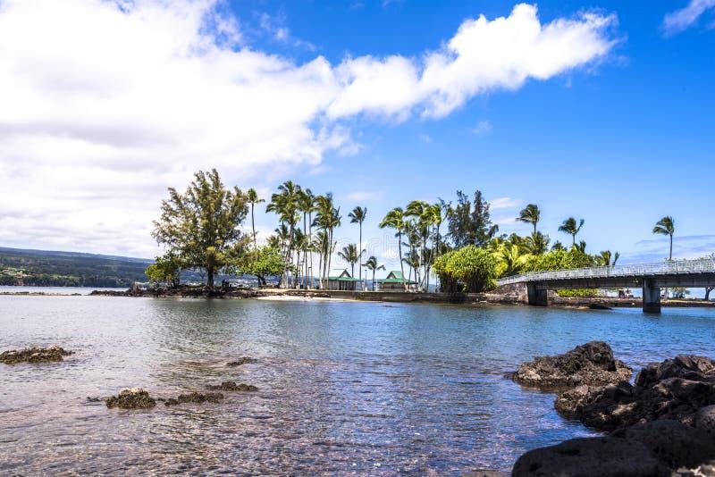 Νησί καρύδων στη Χαβάη στοκ φωτογραφία με δικαίωμα ελεύθερης χρήσης