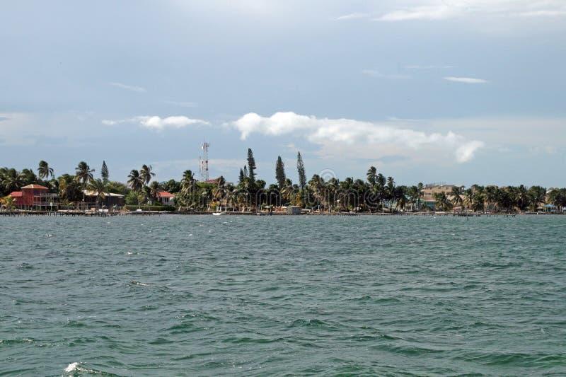 Νησί καλαφατών Caye στοκ φωτογραφία με δικαίωμα ελεύθερης χρήσης