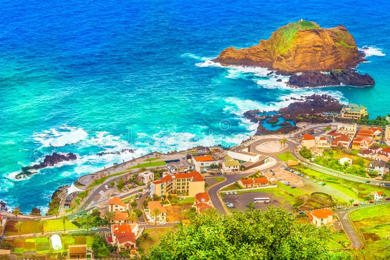 νησί Μαδέρα moniz Πόρτο στοκ εικόνες με δικαίωμα ελεύθερης χρήσης
