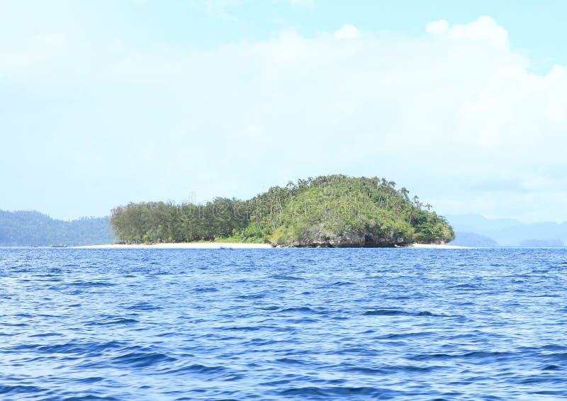 Νησί με τις παραλίες άμμου στοκ εικόνες με δικαίωμα ελεύθερης χρήσης