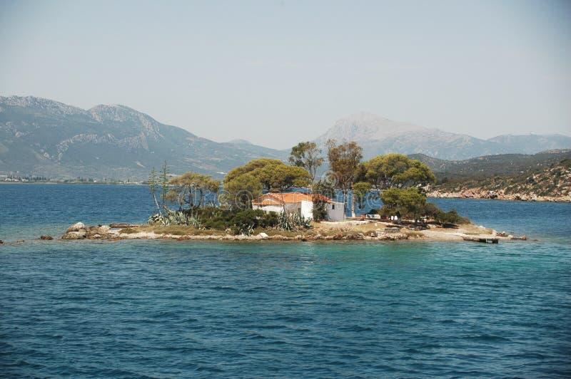 νησί μικροσκοπικό στοκ εικόνα με δικαίωμα ελεύθερης χρήσης