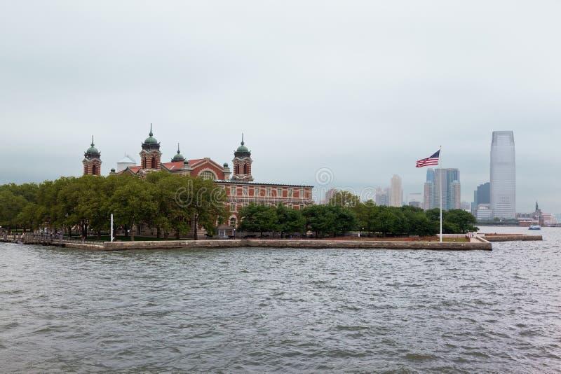 νησί Νέα Υόρκη ellis πόλεων στοκ εικόνες με δικαίωμα ελεύθερης χρήσης