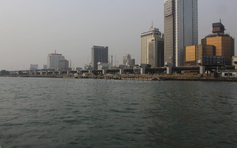Νησί Νιγηρία του Λάγκος στοκ φωτογραφίες με δικαίωμα ελεύθερης χρήσης