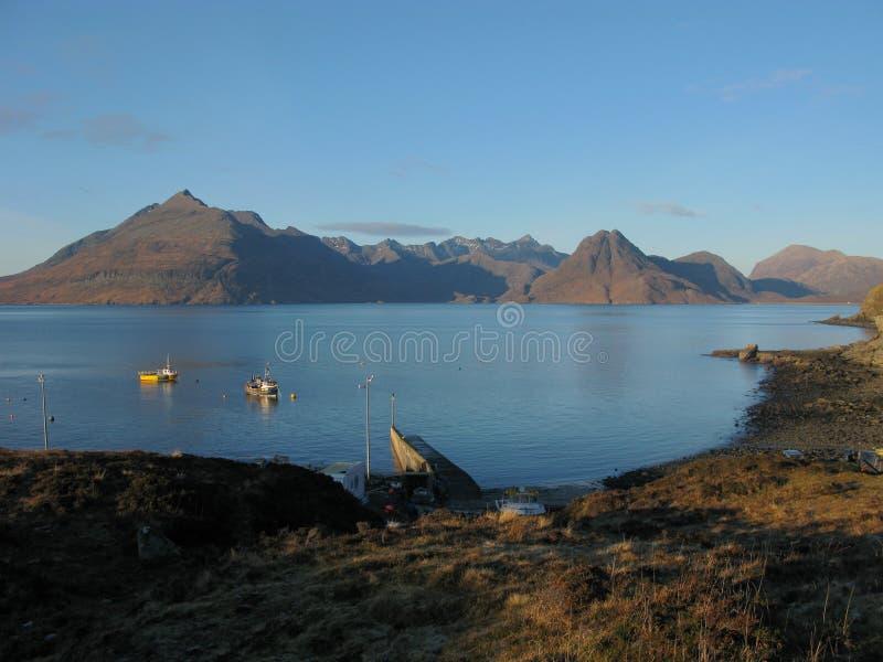 νησί Σκωτία cullin skye στοκ εικόνες