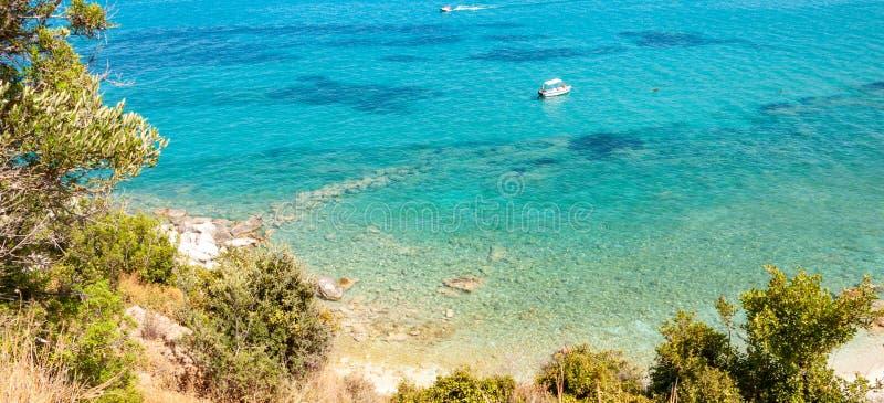 Νησί της Ζάκυνθου, Ελλάδα Ένα μαργαριτάρι της Μεσογείου με τις παραλίες και τις ακτές κατάλληλες για τις αξέχαστες διακοπές θάλασ στοκ εικόνα με δικαίωμα ελεύθερης χρήσης