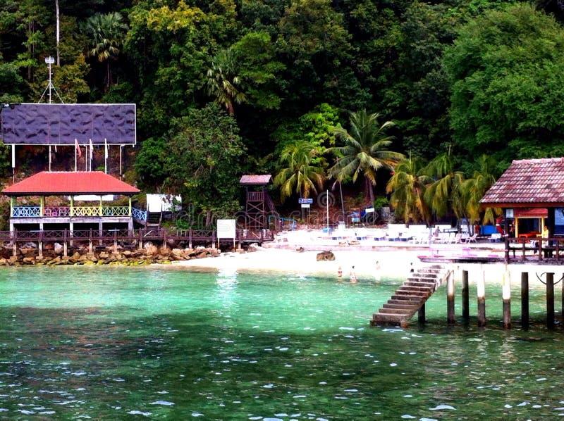 Νησί της Μαλαισίας Payar - Langkawi στοκ εικόνα