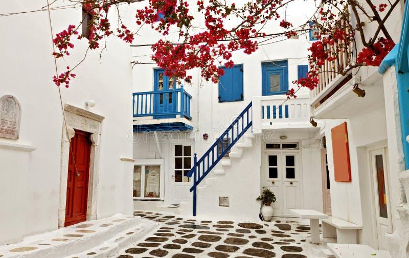Νησί της Μυκόνου στην Ελλάδα στοκ εικόνες με δικαίωμα ελεύθερης χρήσης