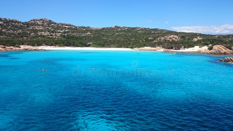 Νησί της Magdalene στη Σαρδηνία στοκ εικόνες
