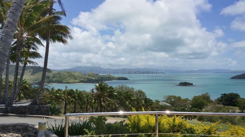 Νησί του Χάμιλτον, Queensland στοκ εικόνες