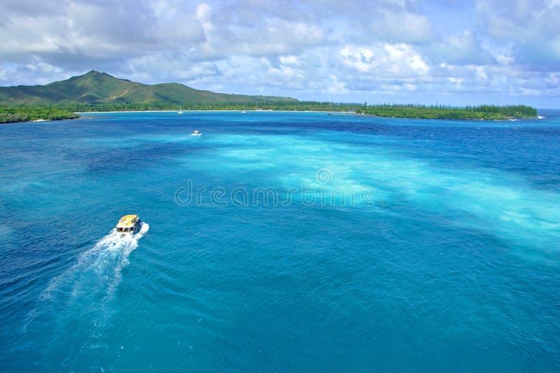 Νησί των πεύκων, Νέα Καληδονία στοκ εικόνα
