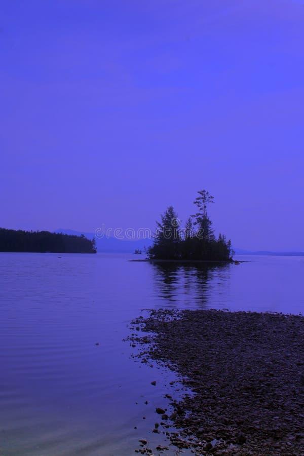 Νησί λυκόφατος στοκ εικόνες