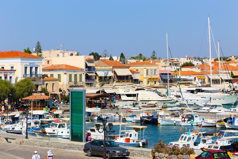 Νησί Aegina - Ελλάδα στοκ φωτογραφία