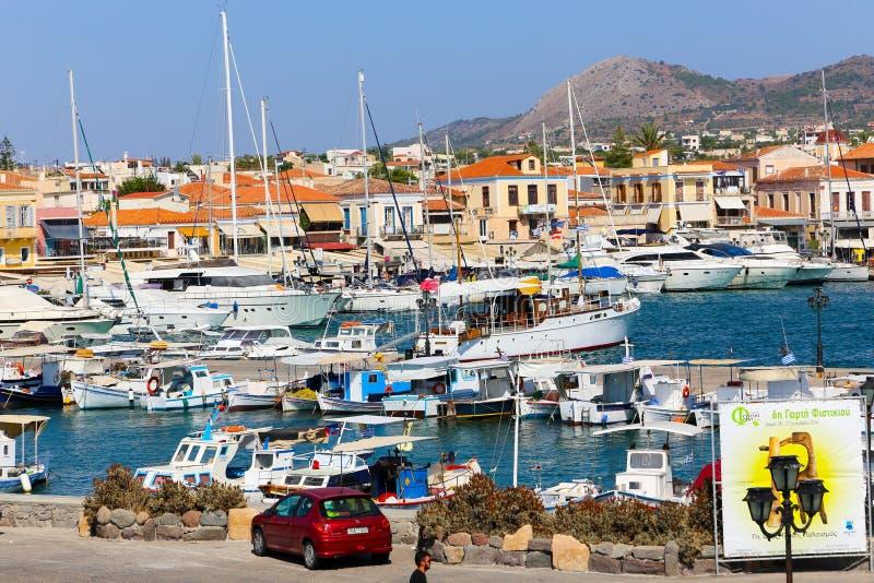 Νησί Aegina - Ελλάδα στοκ εικόνες