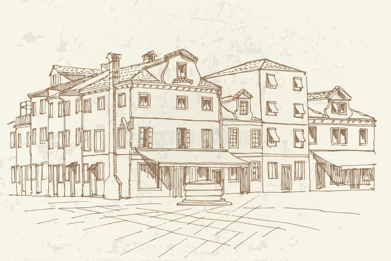 Νησί Burano, Βενετία, Ιταλία στοκ εικόνες με δικαίωμα ελεύθερης χρήσης