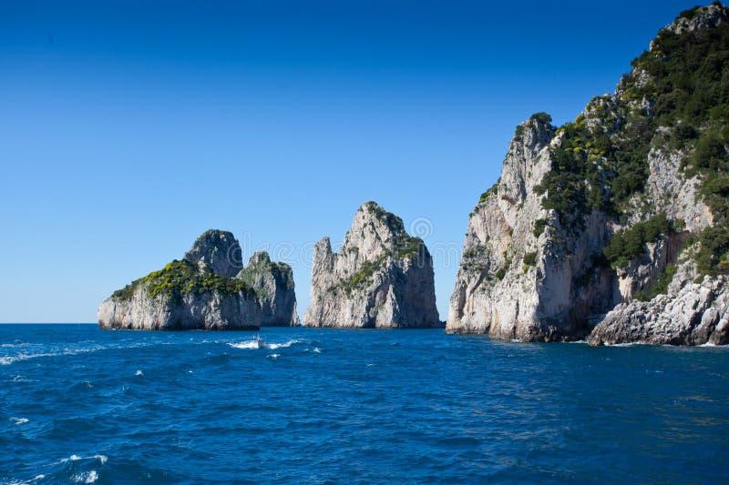 Νησί Capri στοκ εικόνες με δικαίωμα ελεύθερης χρήσης