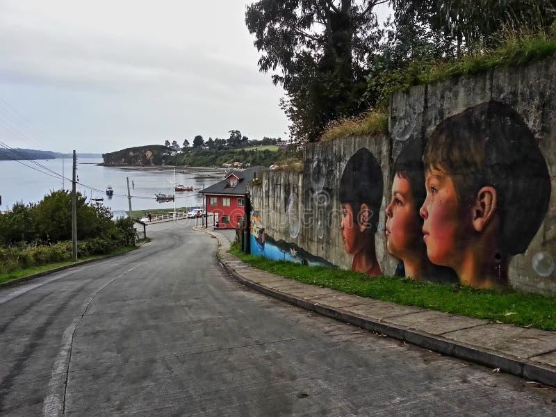 Νησί Chiloè στοκ εικόνα με δικαίωμα ελεύθερης χρήσης