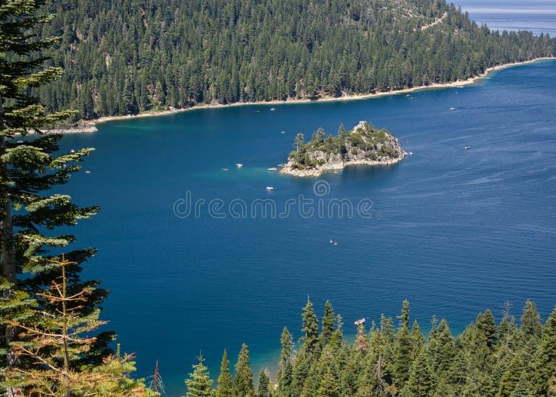 Νησί Fannette στοκ φωτογραφία με δικαίωμα ελεύθερης χρήσης