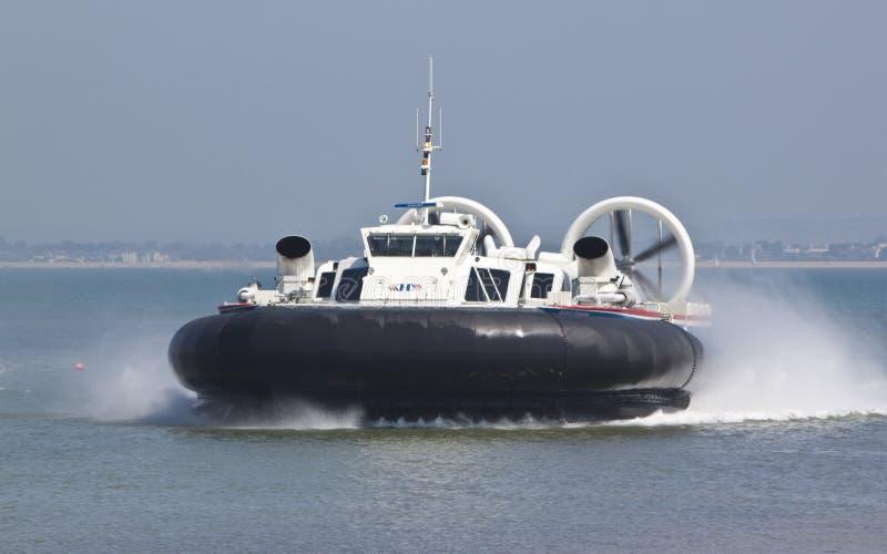 νησί hovercraft wight στοκ φωτογραφία