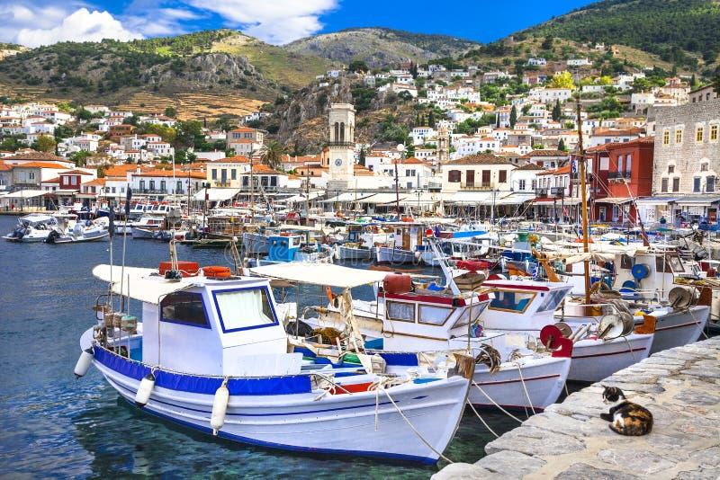 νησί hydra της Ελλάδας στοκ εικόνα