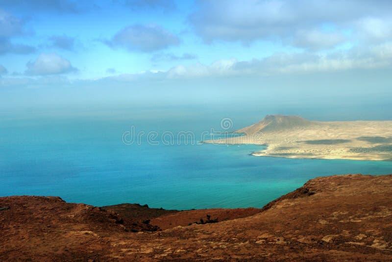 νησί isla graciosa καναρινιών στοκ φωτογραφία με δικαίωμα ελεύθερης χρήσης
