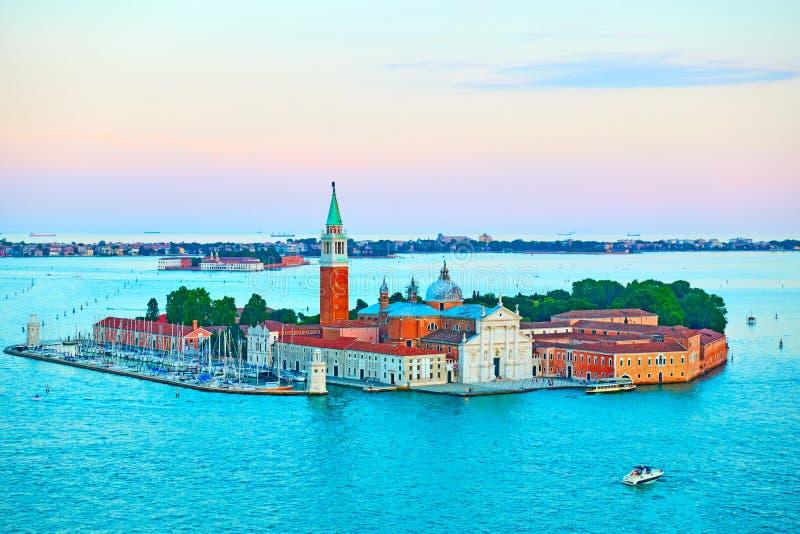 νησί maggiore SAN Βενετία του Giorgio στοκ φωτογραφία με δικαίωμα ελεύθερης χρήσης