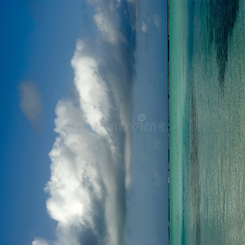 νησί maldivian ακτών στοκ εικόνες