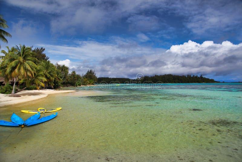 Νησί Moorea, Ταϊτή, γαλλική Πολυνησία, κοντά σε bora-Bora στοκ φωτογραφίες