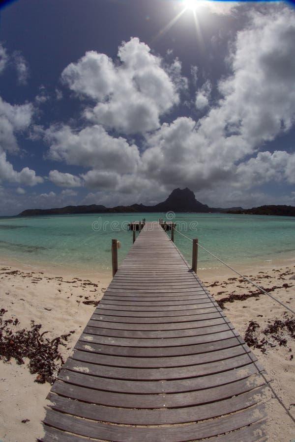 Νησί Motu στην Ταϊτή στοκ φωτογραφία με δικαίωμα ελεύθερης χρήσης