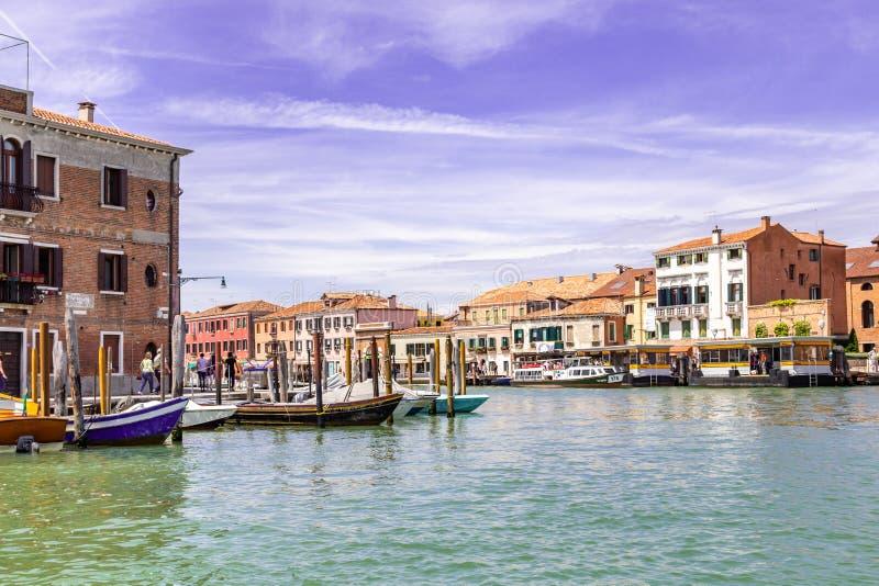 Νησί Murano πανοράματος, Βενετία, Ιταλία στοκ φωτογραφίες με δικαίωμα ελεύθερης χρήσης