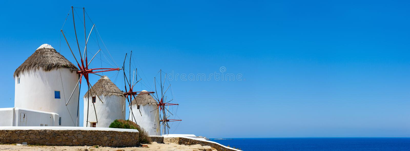 Νησί Mykonos στοκ φωτογραφία