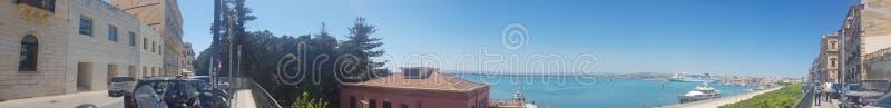 Νησί Ortigia στοκ φωτογραφία
