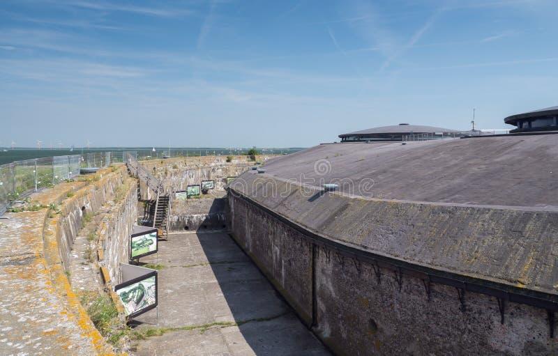 Νησί Pampus φρουρίων στις Κάτω Χώρες στοκ φωτογραφία