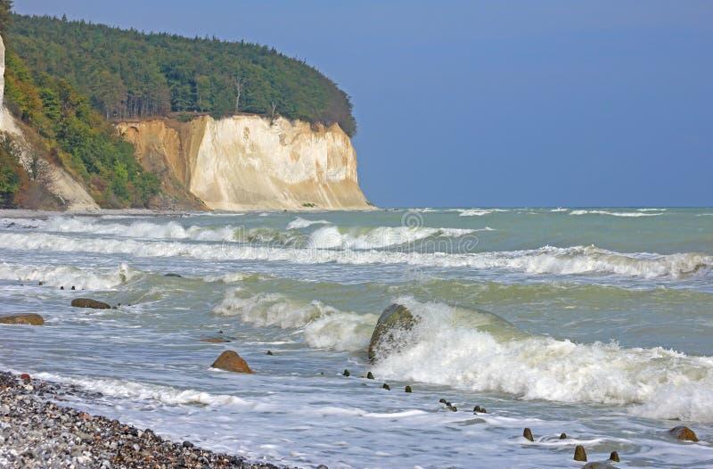 Νησί Rugen, η θάλασσα της Βαλτικής, Γερμανία στοκ εικόνες