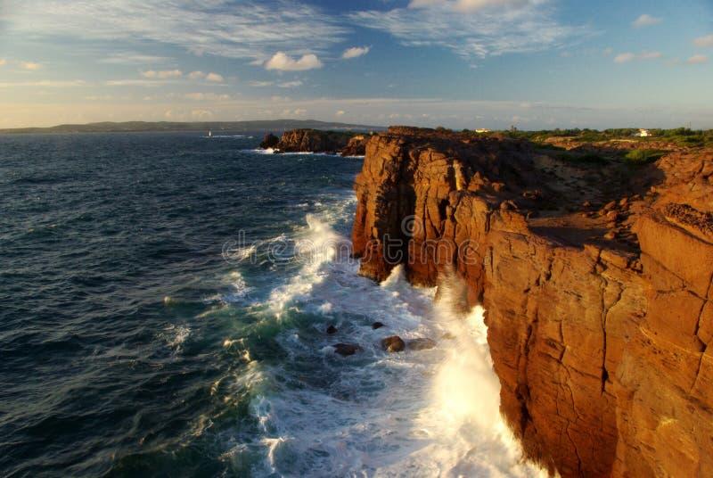 νησί s απότομων βράχων antioco στοκ φωτογραφίες με δικαίωμα ελεύθερης χρήσης